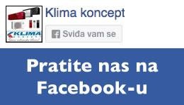 Klima Koncept - facebook službena stranica