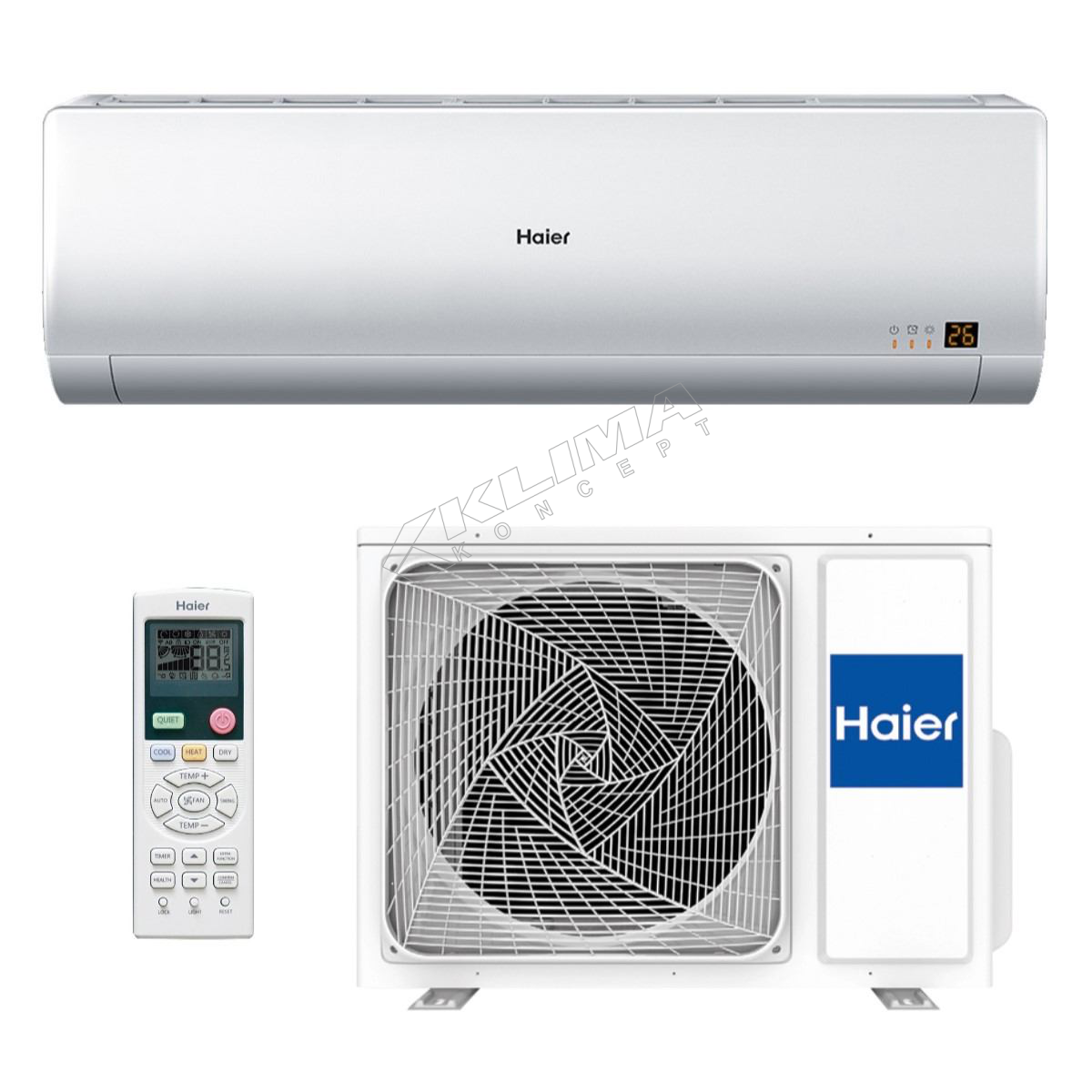 HAIER KLIMA UREĐAJ AS09BS4HRA/1U09BS3ERA