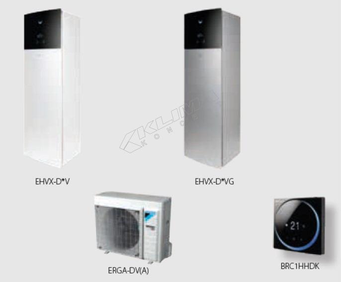 Daikin Altherma 3 R F › reverzibilni modeli › 04-06-08 kW + integriran spremnik za PTV  EHVX-D3V(G)/D6V(G)/D9W(G) + ERGA-DV3(A)