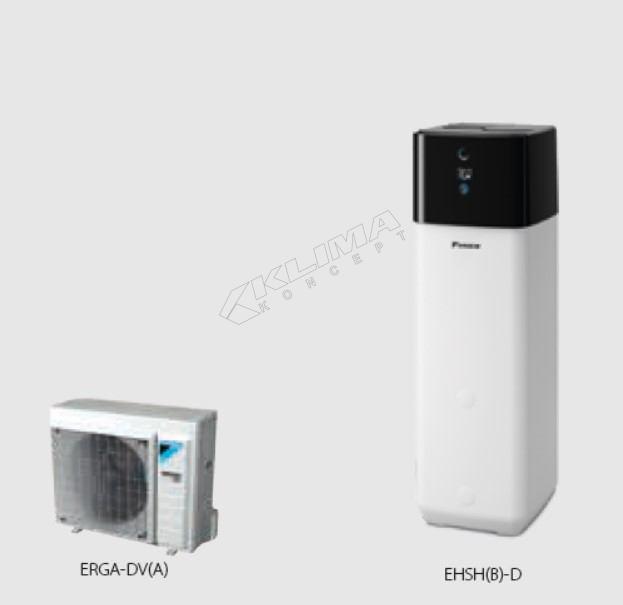 Daikin Altherma 3 R ECH2O › 04-06-08 kW  EHSH(B)-D + ERGA-DV3(A)