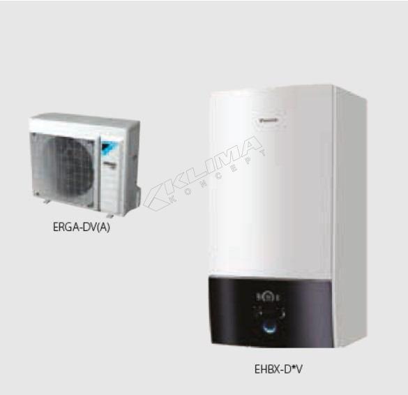 Daikin Altherma 3 R W › reverzibilni modeli › 04-06-08 kW  EHBX-D6V/D9W + ERGA-DV3(A)
