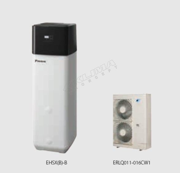 Daikin Altherma R ECH2O › 11-14-16 kW  EHSX(B)-B + ERLQ-CV3/CW1