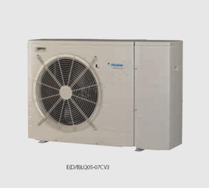 Daikin Altherma M  › 05-07 kW › bez pomoćnog grijača  E(B/D)LQ-CV3 + EK(2)CB-CV3