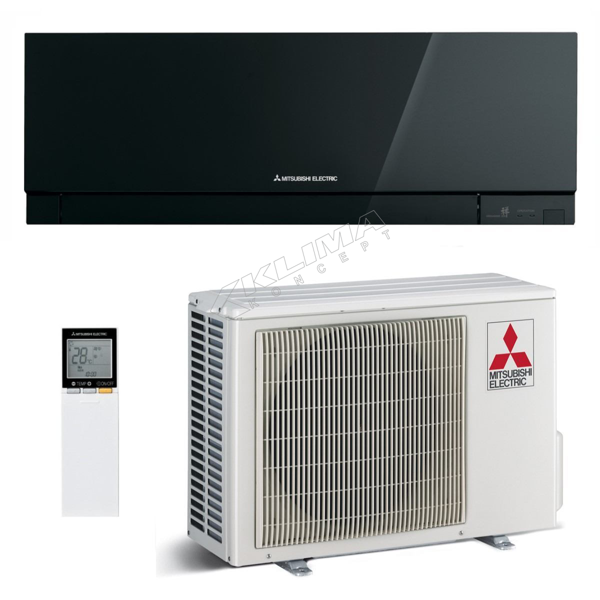 MITSUBISHI ELECTRIC KLIMA UREĐAJ MSZ-EF42VGB/MUZ-EF42VG R32