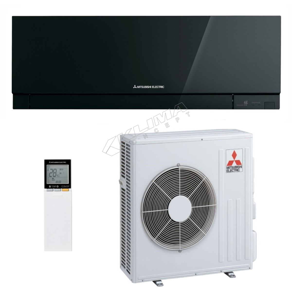 MITSUBISHI ELECTRIC KLIMA UREĐAJ MSZ-EF50VGB/MUZ-EF50VG R32