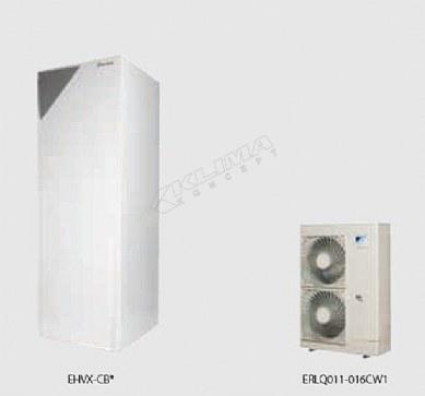 Daikin Altherma R F › reverzibilni modeli › 11-14-16 kW + integriran spremnik za PTV  EHVX-CB + ERLQ-CV3/W1