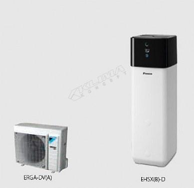 Daikin Altherma 3 R ECH2O › 04-06-08 kW  EHSX(B)-D + ERGA-DV3(A)