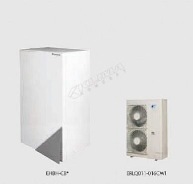 Daikin Altherma R W › samo za grijanje › 11-14-16 kW  EHBH-CB + ERLQ-CV3/W1