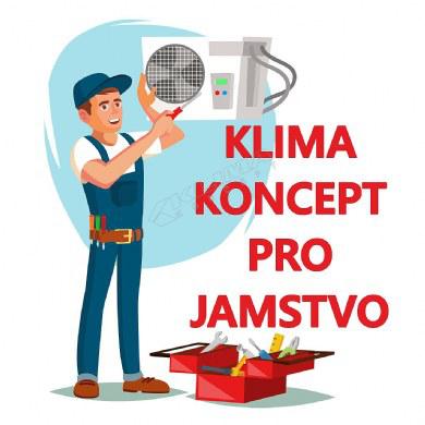 KLIMA KONCEPT PRO JAMSTVO KLIMA UREĐAJA SNAGE 5,5 - 8 kW UZ REDOVAN GODIŠNJI SERVIS