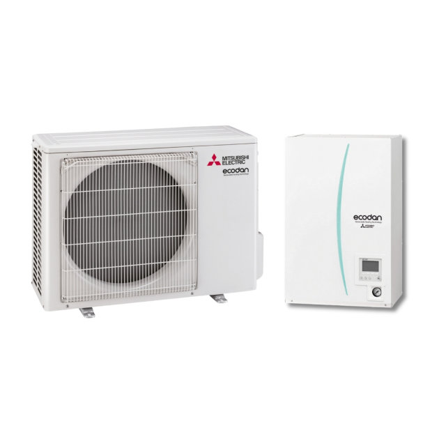 Mitsubishi Electric Ecodan - Set PUHZ-SW50VKA/EHSD-YM9/PAC-TH011-E