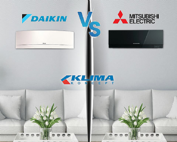 MITSUBISHI ELECTRIC VS. DAIKIN - usporedba!
