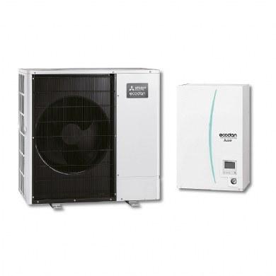 Mitsubishi Electric Ecodan - Set PUHZ-SW100VAA/ERSC-VM2/PAC-TH011-E