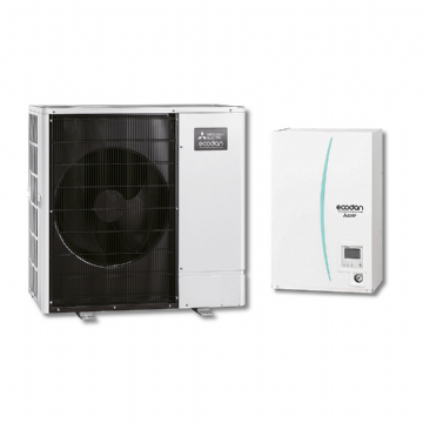 Mitsubishi Electric Ecodan - Set PUHZ-SW100YAA/ERSC-VM2C/PAC-TH011-E trofazna