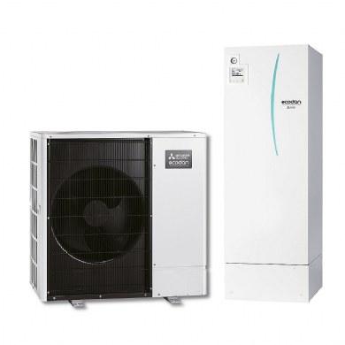 Mitsubishi Electric Ecodan -  Set PUHZ-SW75YAA+ERST20D-VM2C+PAC-TH011-E trofazna
